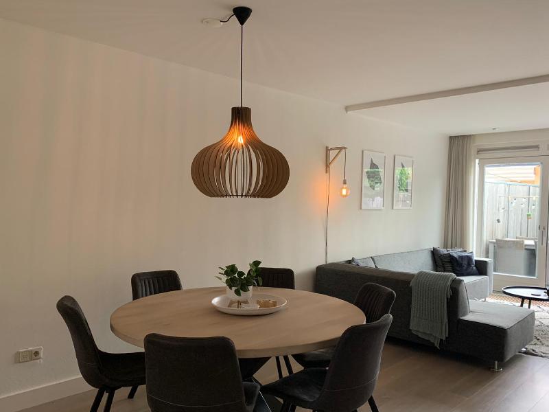 Hanglamp hout Scandinavisch design - LICHTENVOORDE