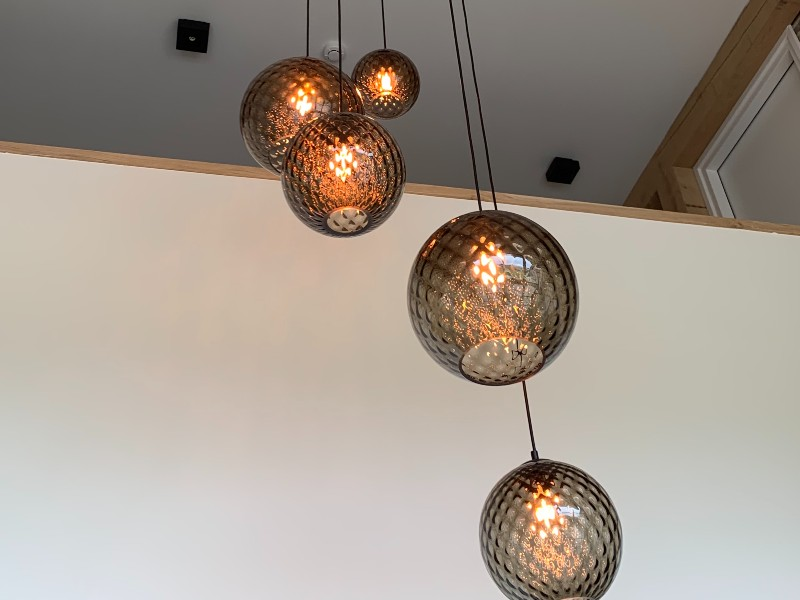 Vide hanglamp glas - <b>GROENLO</b>